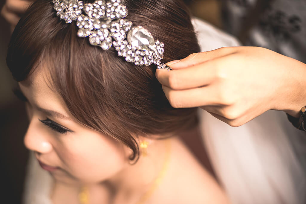 新秘教學|妝髮設計