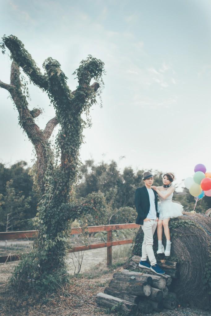 自助婚紗|愛麗絲的天空|洪紅&崑崑