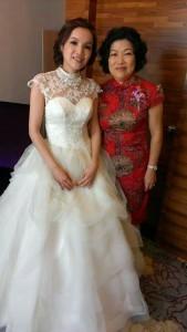 花壇婚宴會館,全國麗園飯店,婚禮攝影,新娘秘書,婚禮造型,全省新秘,造型設計,新娘髮型,禮服挑選,蕾絲禮服,背部簍空